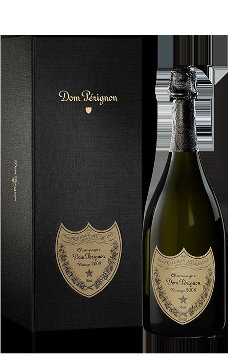 Bouteille sous coffret Dom Pérignon Vintage 2008