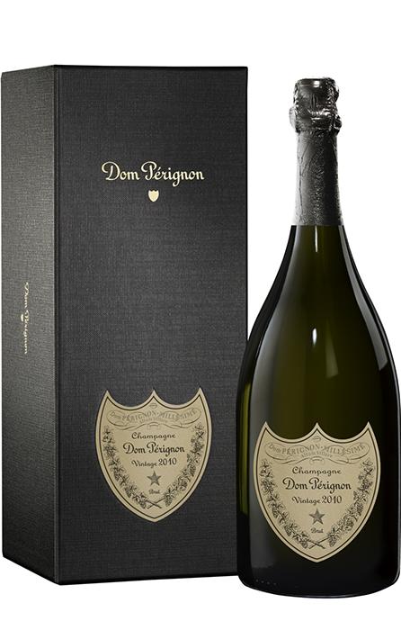 Bouteille sous coffret Dom Pérignon Vintage 2010