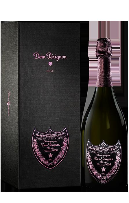 Bouteille sous coffret Dom Pérignon Vintage Rosé 2006