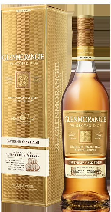 Bouteille sous étui Glenmorangie The Nectar d'Or