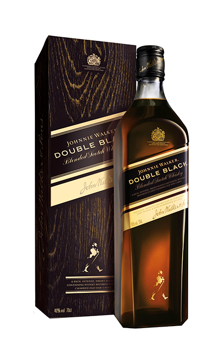 Johnnie Walker Double Black 70cl sous etui