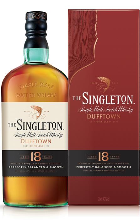 Bouteille sous étui The Singleton of Dufftown 18 Ans
