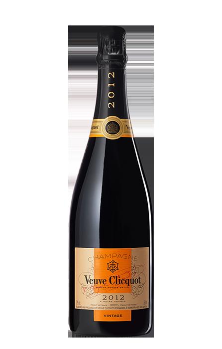 Bouteille Veuve Clicquot Vintage 2012