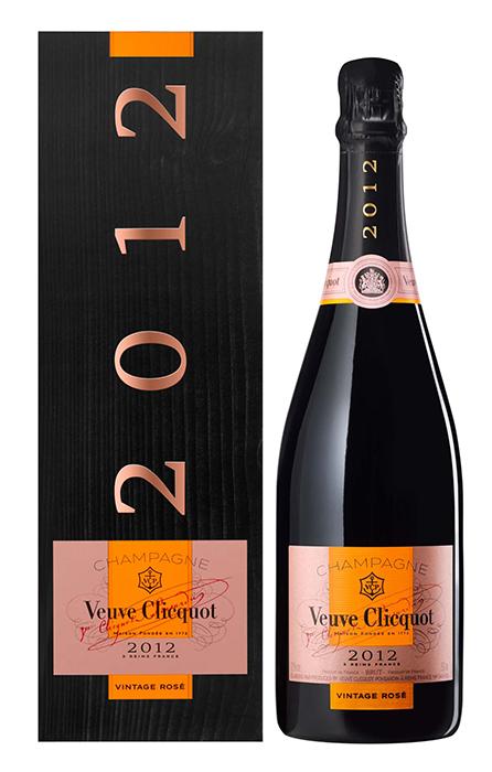 Bouteille sous étui Veuve Clicquot Vintage Rose 2012
