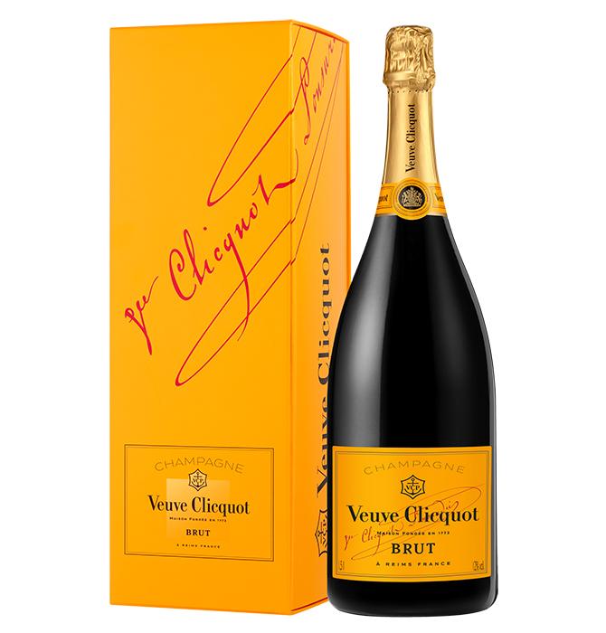 Magnum Veuve Clicquot Brut Carte Jaune sous étui