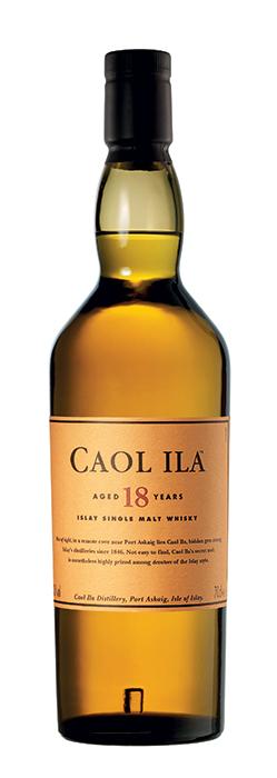 Bouteille Caol Ila 18 ans