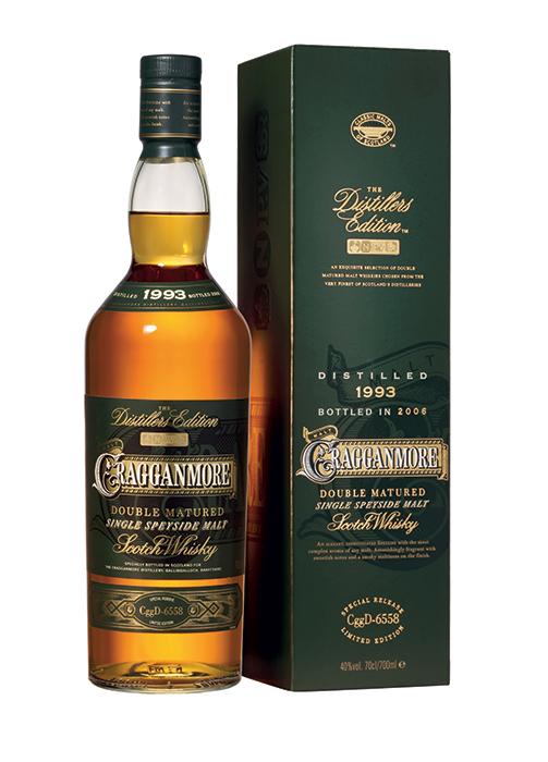 Bouteille sous étui Cragganmore Distillers Edition
