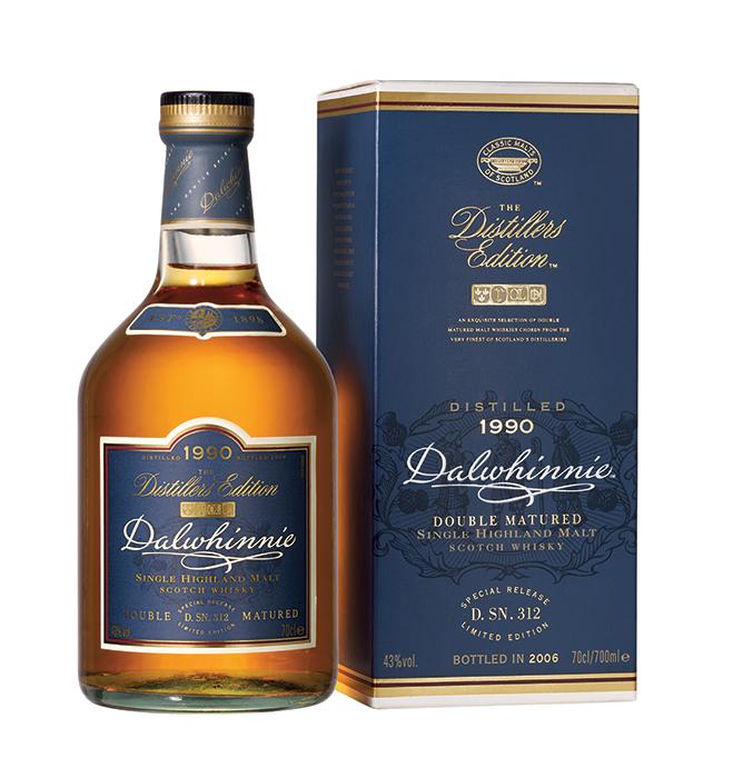 Bouteille sous étui Dalwhinnie Distillers Edition