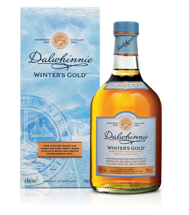 Bouteille sous étui Dalwhinnie Winters Gold