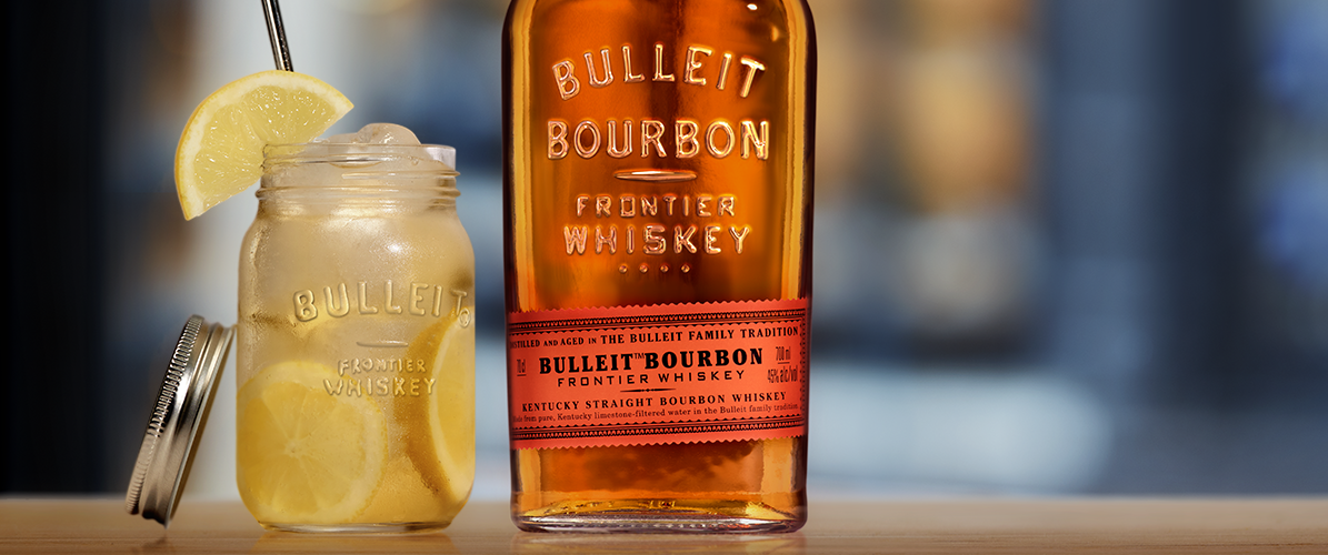 cocktail bulleit lemon