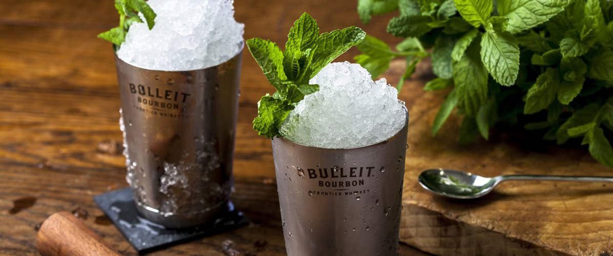 cocktail bulleit mint