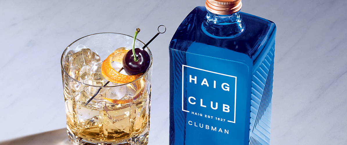 Haig club old fashioned