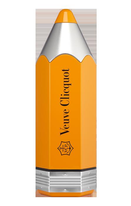 Étui Pencil Veuve Clicquot Brut Carte Jaune