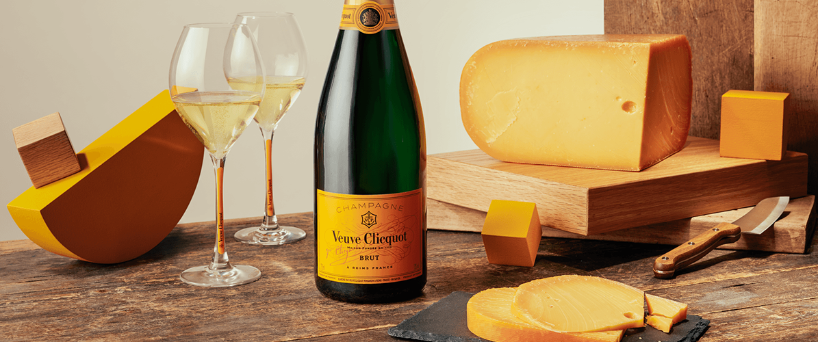 Veuve Clicquot - Accord Fromage