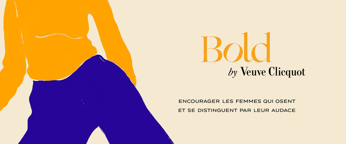 BOLD WOMAN AWARD PAR VEUVE CLICQUOT
