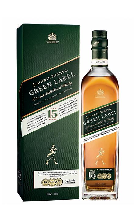 Johnnie Walker Green Label 70cl sous etui