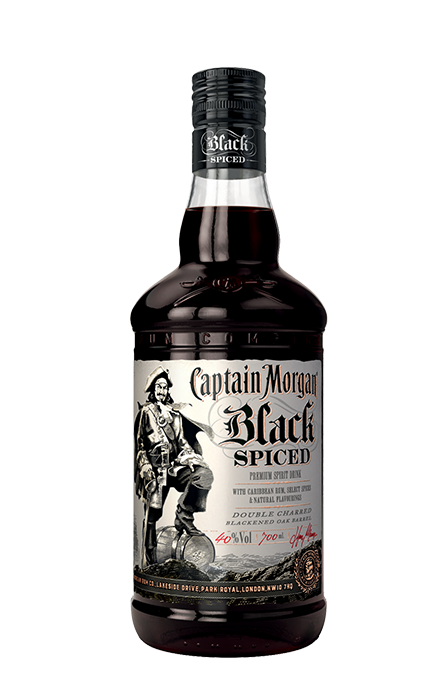 Bouteille 70cl Captain Morgan Black Spiced
