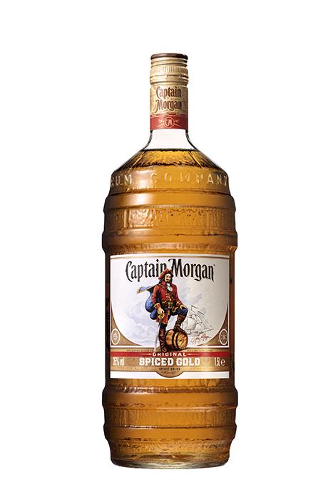 Barrel 1,L Captain Morgan Original Spiced Gold