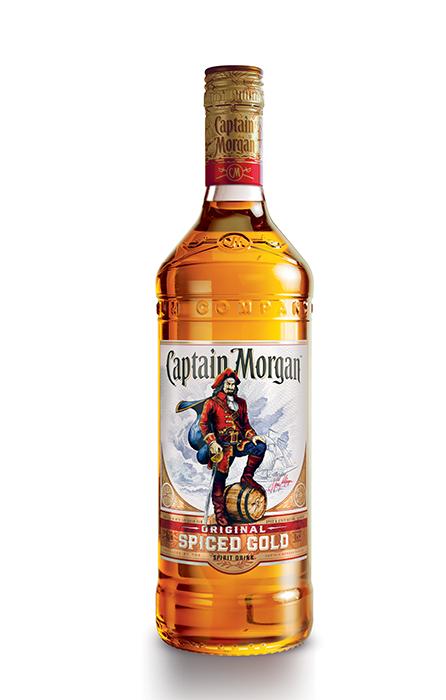 Bouteille 1L Captain Morgan Original Spiced Gold