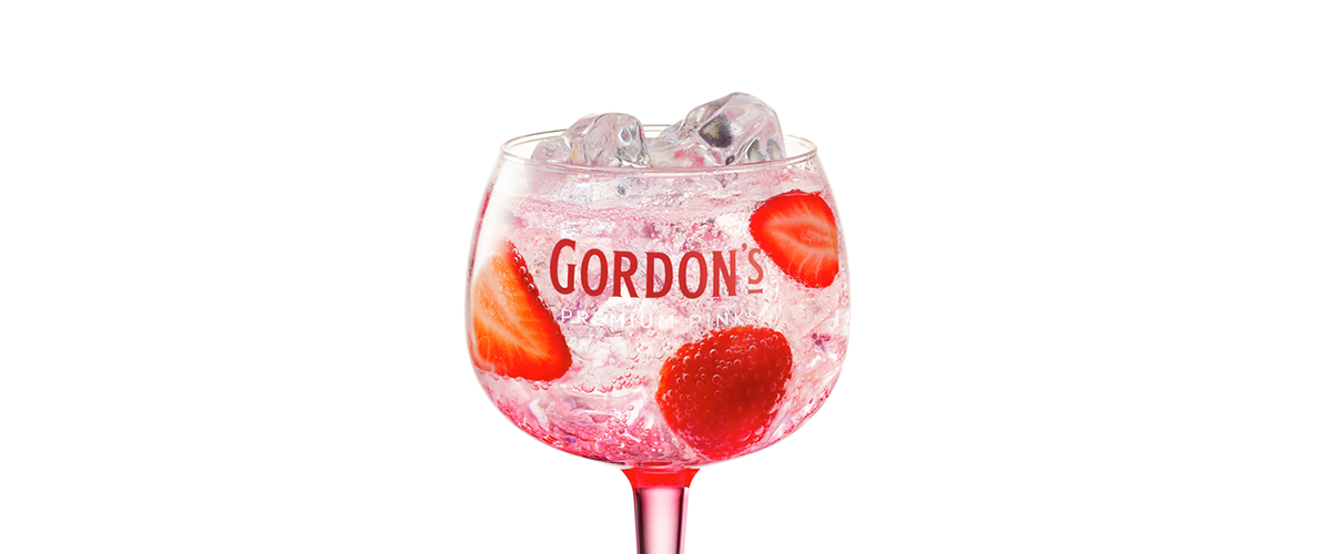 COCKTAIL GORDON'S PINK & TONIC