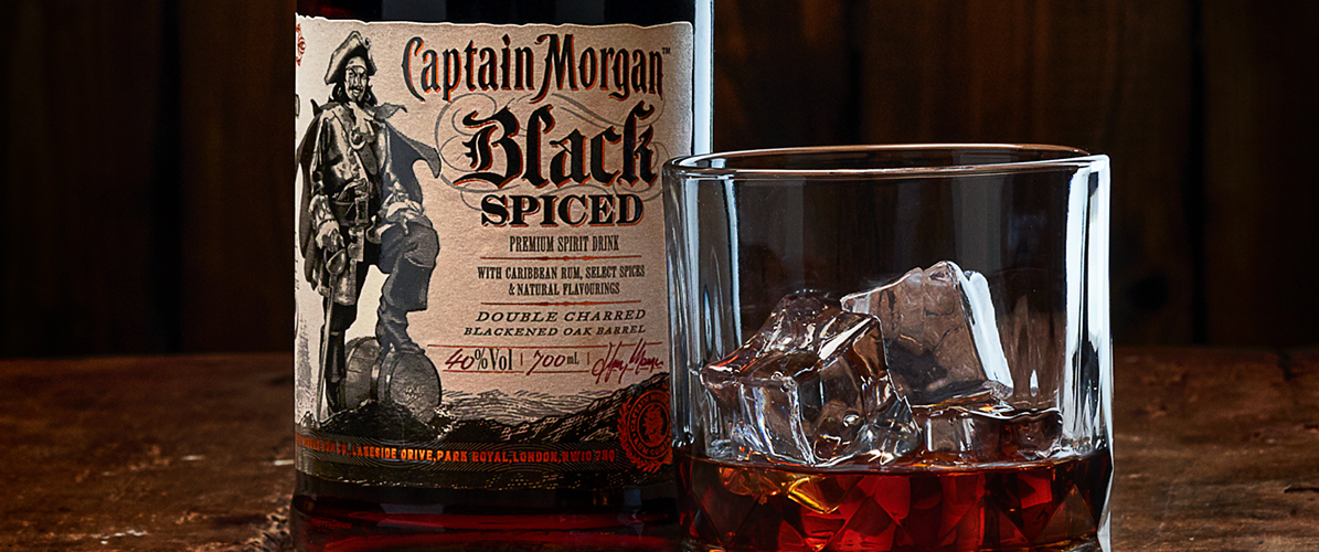 EN 2020, CAPTAIN MORGAN LANCE BLACK SPICED