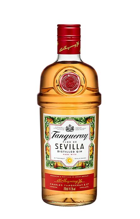 Bouteille Tanqueray Flor de Sevilla