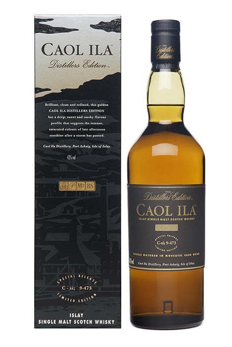 Bouteille sous étui Caol Ila Distillers Edition