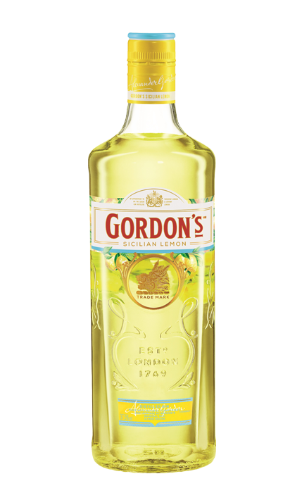 Bouteille Gordon's Lemon